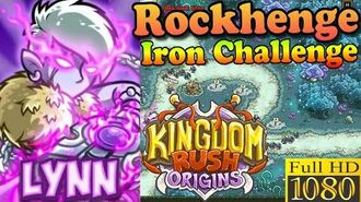 Kingdom Rush Origins HD - Rockhenge Iron (Level 7) Hero Lynn