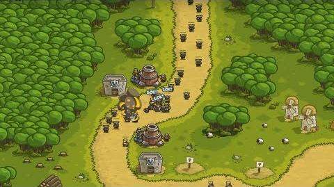 Kingdom Rush HD (Level 1 Southport) Iron Challenge only 3 StarS