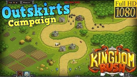 Kingdom Rush HD - Outskirts Campaign (Level 2) only 3 StarS