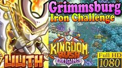 Kingdom Rush Origins HD - Grimmsburg Iron (Level 8) Hero Lilith