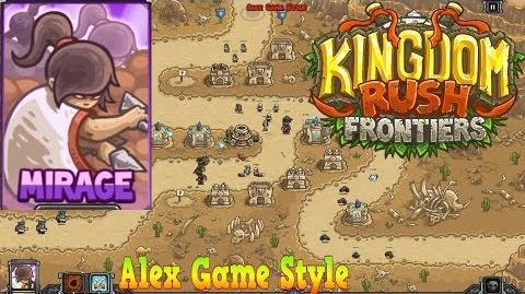 Kingdom Rush Frontiers HD Dunes of Despair Campaign Level 4 Hero Mirage
