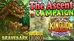 Kingdom Rush Origins HD - The Ascent Campaign (Level 12) Hero Bravebark