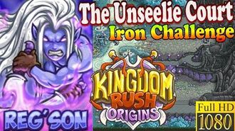 Kingdom Rush Origins HD - The Unseelie Court Iron (Level 11) Hero Reg'son