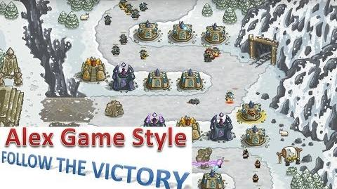 Kingdom Rush HD (Level 9 Stormcloud Temple) Iron Challenge