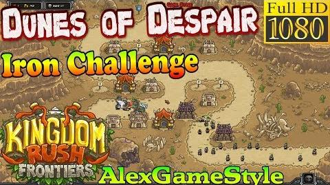 Kingdom Rush Frontiers HD - Dunes of Despair Iron Challenge (Level 4)