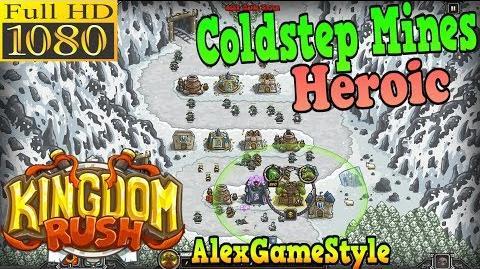 Kingdom Rush HD - Coldstep Mines Heroic (Level 7)