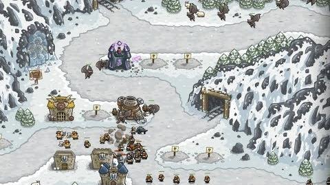 Kingdom Rush HD (Level 8 Icewind Pass) Iron Challenge
