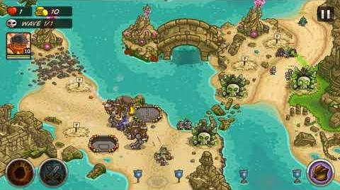 Kingdom Rush Frontiers The Sunken Citadel Iron Challenge