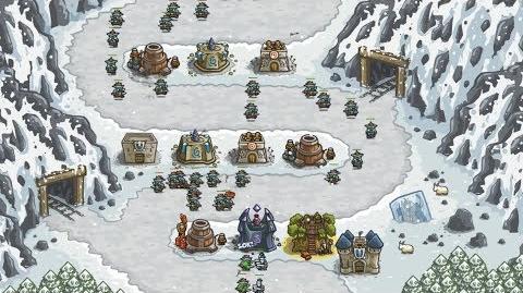 Kingdom Rush HD (Level 7 Coldstep Mines) Heroic