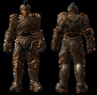 Teeth of Naros Unique Might Armor