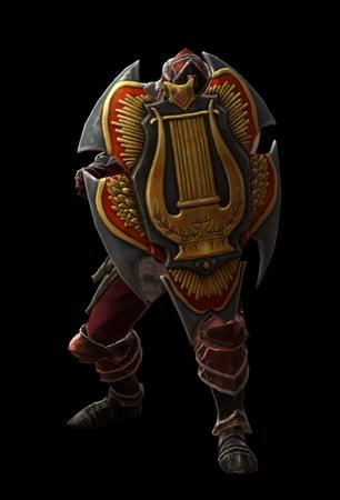 House of Ballads Shield