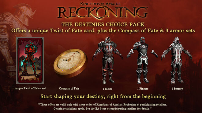 The Destinies Choice Pack 1