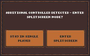 Enter Splitscreen