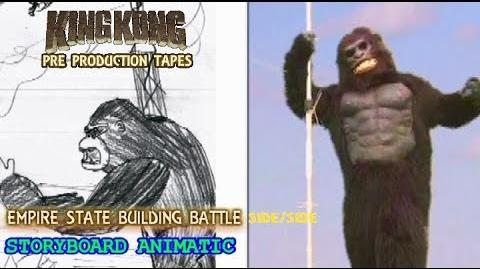 King Kong (2016) Fan Film ANIMATIC FINAL SCENE - Empire State Building