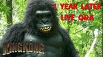 King Kong (2016) Fan Film - 1 YEAR LATER Q&A - A BigJackFilms Livestream
