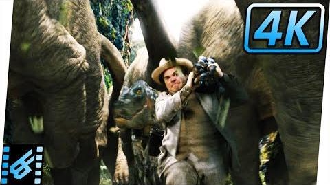 Video Dinosaur Stampede King Kong 2005 Movie Clip