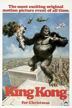 King kong 1976 movie poster