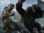 King Kong hitting V.rex