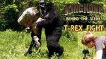 27. T REX FIGHT! King Kong (2016) Fan Film - BEHIND THE SCENES