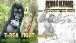 King Kong (2016) Fan Film ANIMATIC FINAL SCENE - T-Rex Fight