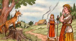 Talking fox