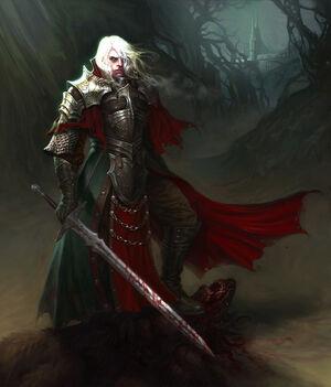 Terrad Draco Blood King