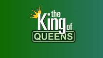 King of Queens logo green aqua