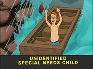 Unidentified Special Needs Child