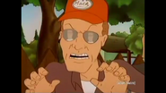 Dale Gribble aggressive