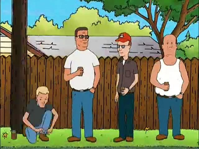 King of the Hill Season 1 Episode 3 - Order of the Straight Arrow