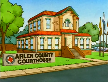 Arlen county courthouse