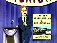 Gary cole as vance gilbert proposes a new museum in king of the hill