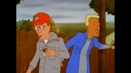 Dale and Boomhauer spitting