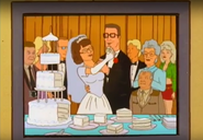 S03EP19 Hank and Peggy's wedding