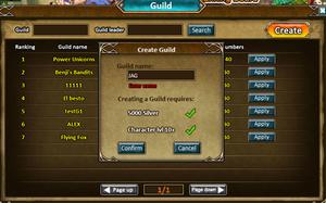 Guild create