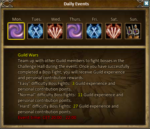 Guild events