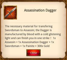 Assassination Dagger
