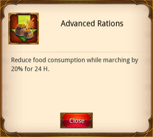 Advanced Rations