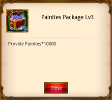 Painites Package level 3