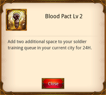 Blood Pact Level 2
