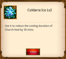 Coldarra Ice Level 2