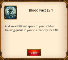 Blood Pact Level 1