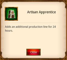 Artisan Apprentice