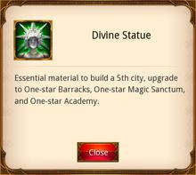 Divine Statue