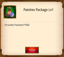Painites Package level 1
