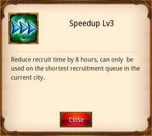 Speedup Level 3