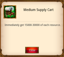 Medium Supply Cart