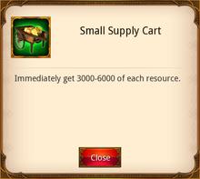Small Supply Cart
