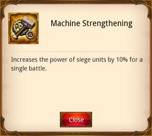 Machine Strengthening
