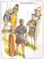 Plate A-Legionary Infantrymen